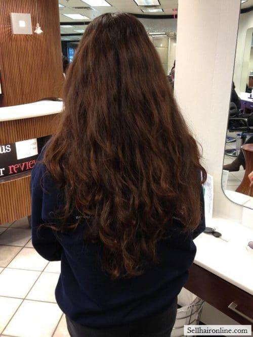 Virgin curls/color
