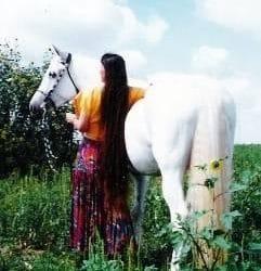 Horseback video available.