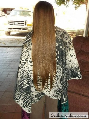 brown hair to sell