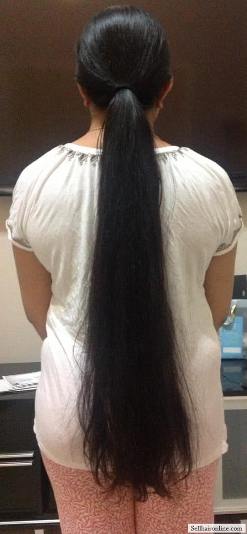 VERY LONG INDIAN HAIR
