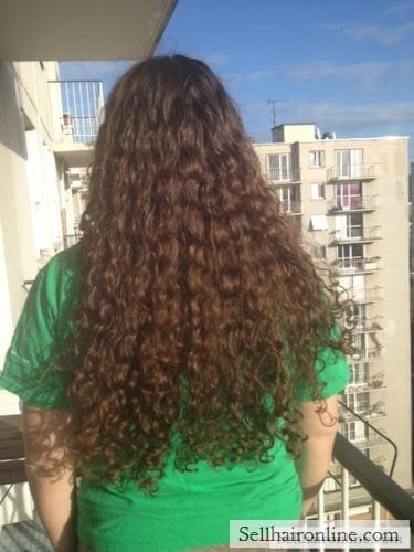 extremely long hair