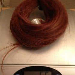 red long virgin hair for sale