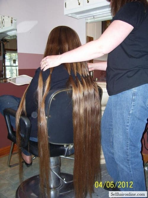 selling your long hair