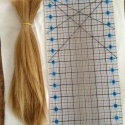 12″ Virgin Blonde Hair