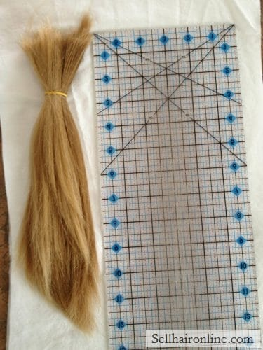 12″ Virgin Blonde Hair