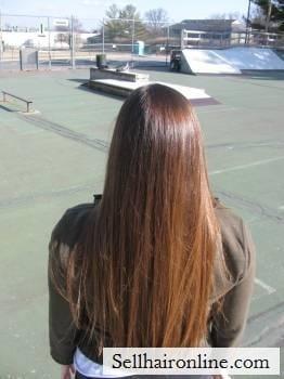 Beautifully Thick Shiny Auburn Hair