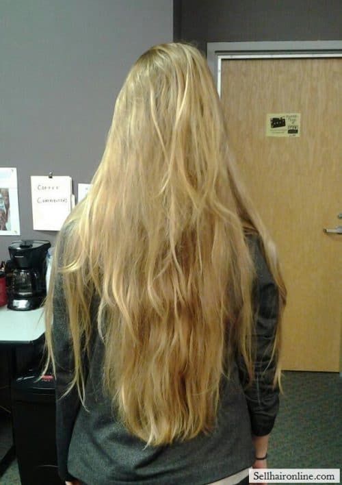 Blonde Natural Highlights hair to sell 7