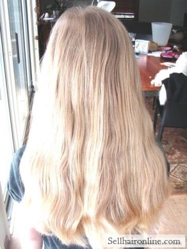 10 Year Old S Light Blonde Hair 11 Quot Hair Marketplace