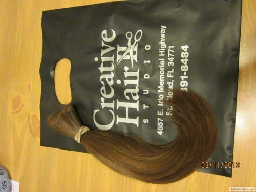 Beautiful Medium Brown Virgin Hair