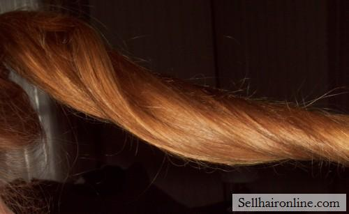 16+ in. Strawberry Blonde Hair For Sale