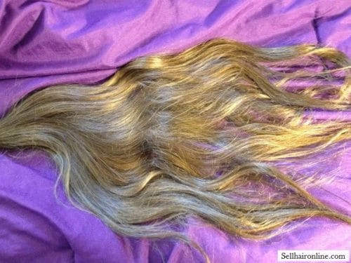 22 inch Blond Ponytail hair for sale 2
