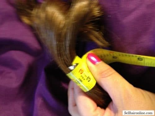22 inch Blond Ponytail hair for sale 3