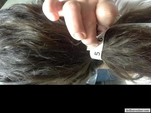 thick brown hair for sale 3