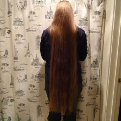 32″ Virgin Strawberry-Blonde Hair