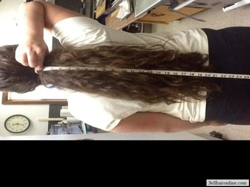 thick brown hair for sale 2