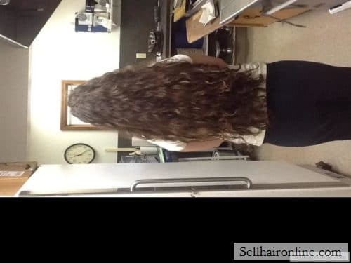 thick brown hair for sale
