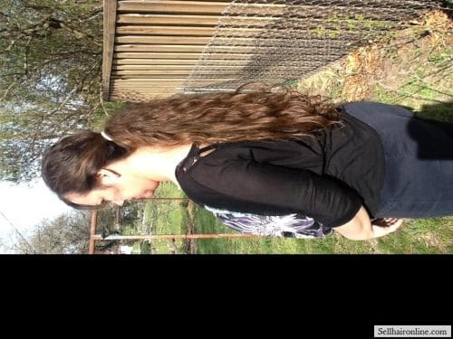 thick brown hair for sale 4