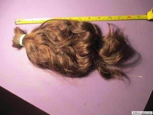 beautiful thick & shiny hair