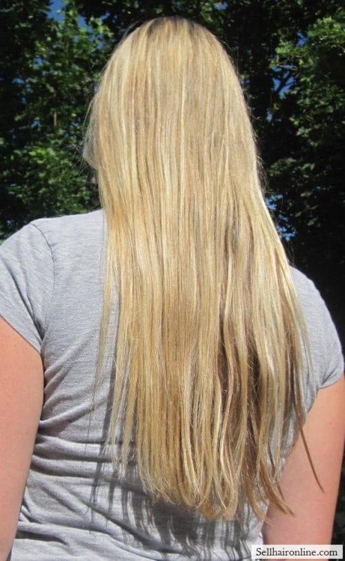 full hair, sorry didn\'t totally brush...