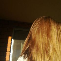 long hair cut off