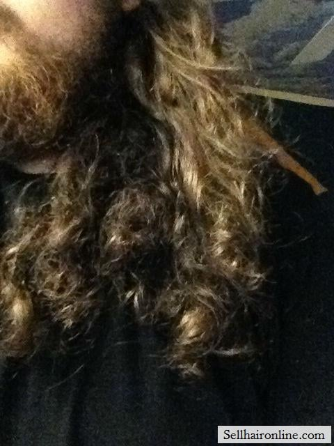 Front Curls hair