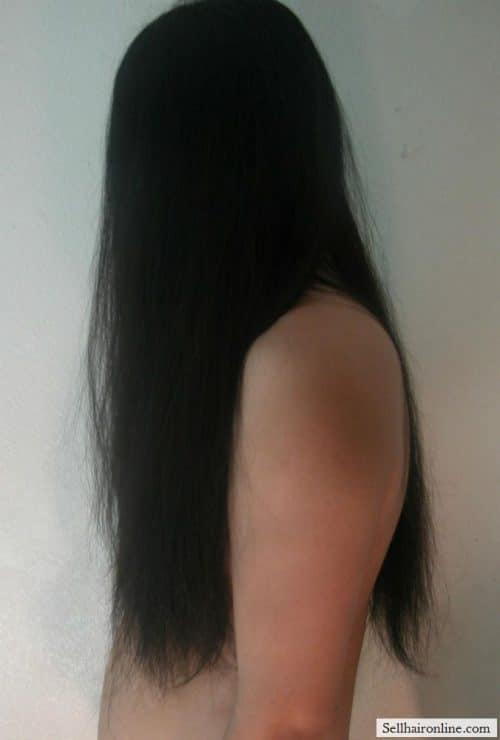 1 long hair