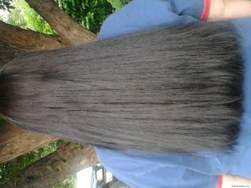 thick dark brown hair for sale 1
