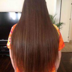 Long full hair