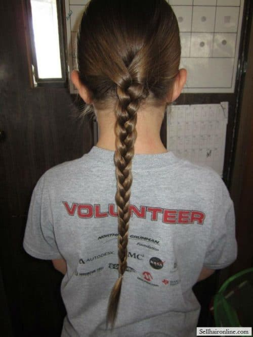 Braid shows thickness