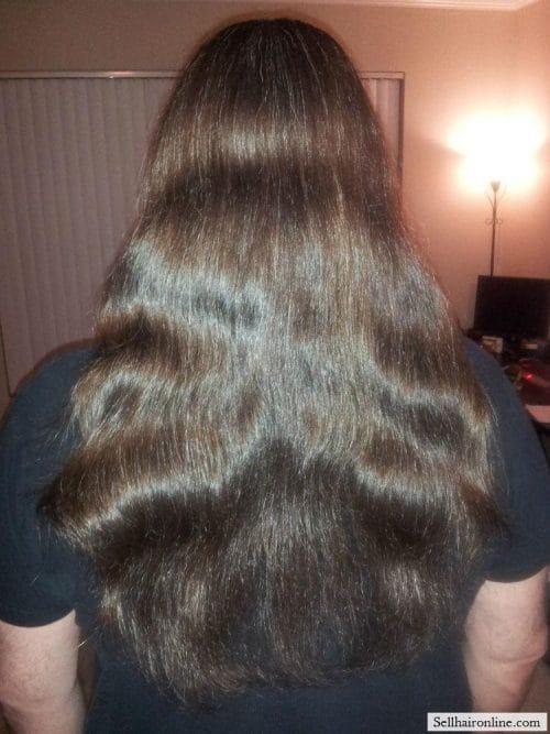 Bry Hair 2 Selling my long hair