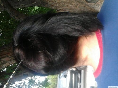thick dark brown hair for sale 2