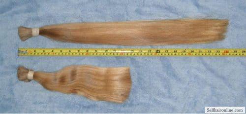 Virgin blonde tails