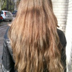 Selling my hair because i am doing new haircut