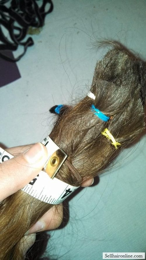 wavy brown hair for sale 5
