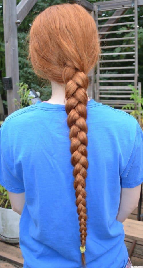 Virgin Orange/Red Wavy/Straight Hair for sale 3