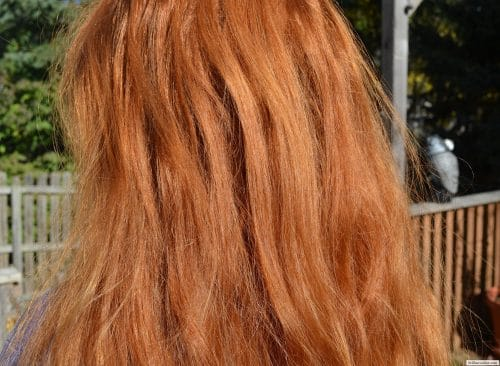 Virgin Orange/Red Wavy/Straight Hair for sale 2