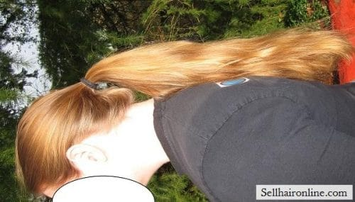 Blonde hair for sale 3