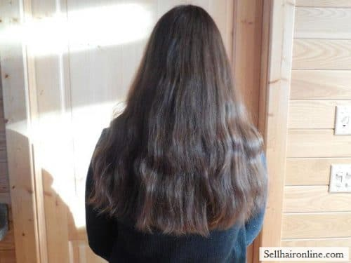 Hair 002 brunette virgin hair for sale