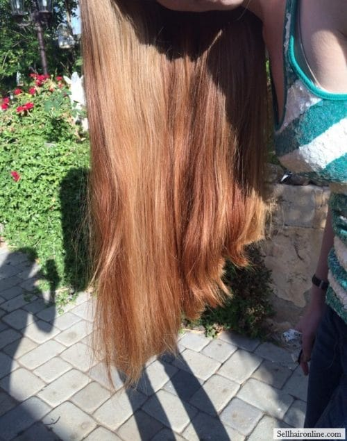 Beautiful thick red hair for Sale 4