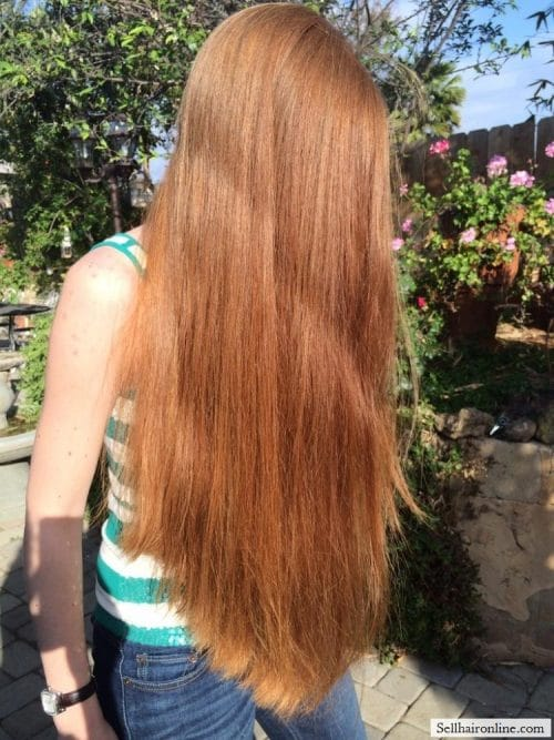 Beautiful thick red hair for Sale 1