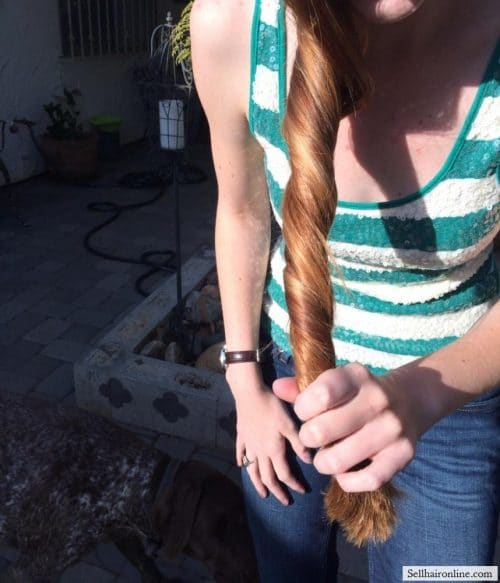 Beautiful thick red hair for Sale 2