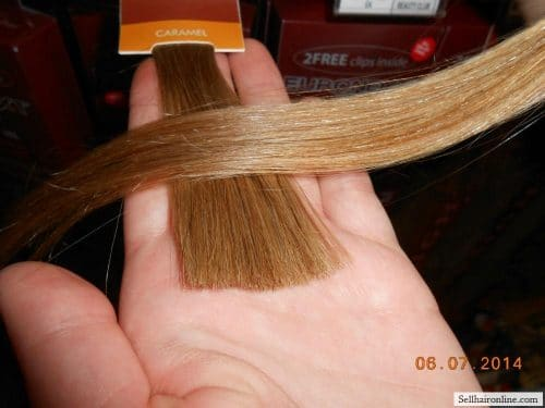 Matches Caramel blond at Sally Beauty Supply