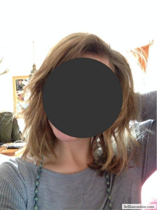 Selling Virgin Golden Brown Hair 4