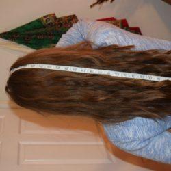 Selling Virgin Golden Brown Hair (1)